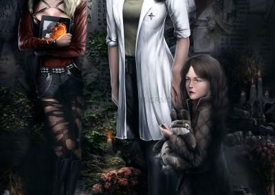 Rebecca, Mia, and Katie