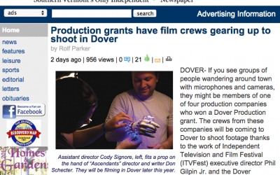 Newspaper News: Production Grant
